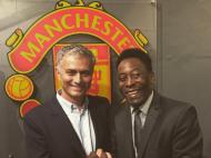 Pelé e Mourinho