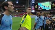 Trocaram o hino do Uruguai pelo do Chile