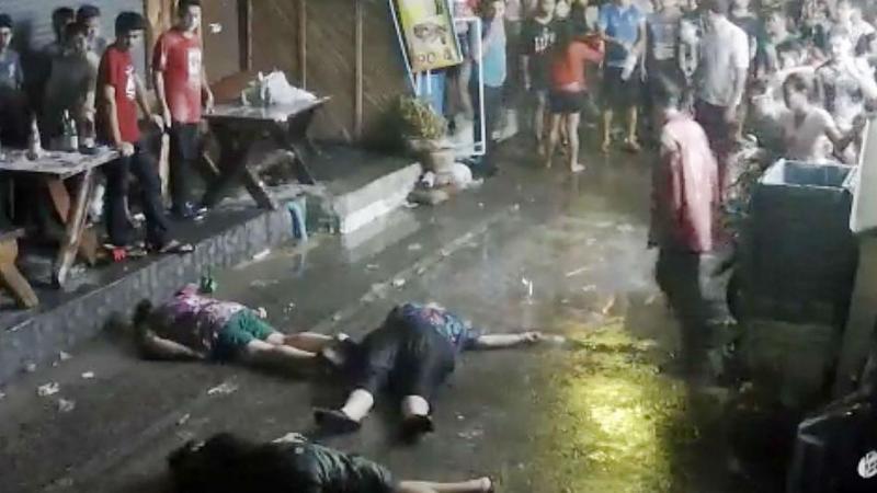 Família britânica agredida na Tailândia