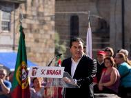 Apresentação de José Peseiro (foto Sp. Braga)