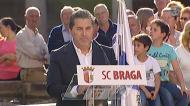José Peseiro apresentado no Sp. Braga