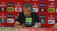 Fernando Santos fala das dificuldades da...Arménia