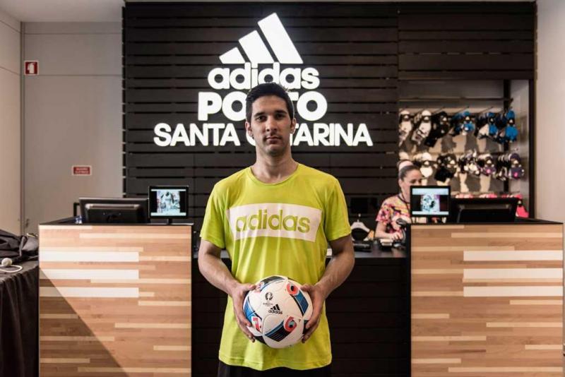 38f3ab939f4 30 33 - Abertura da nova loja Adidas na Rua de Santa Catarina Foto   Divulgação