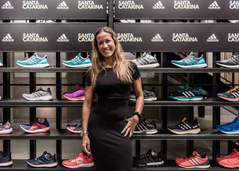 aec53317f32 21 33 - Abertura da nova loja Adidas na Rua de Santa Catarina Foto   Divulgação