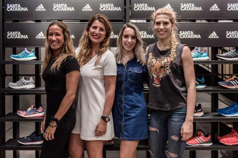 07606a2e73e 17 33 - Abertura da nova loja Adidas na Rua de Santa Catarina Foto   Divulgação