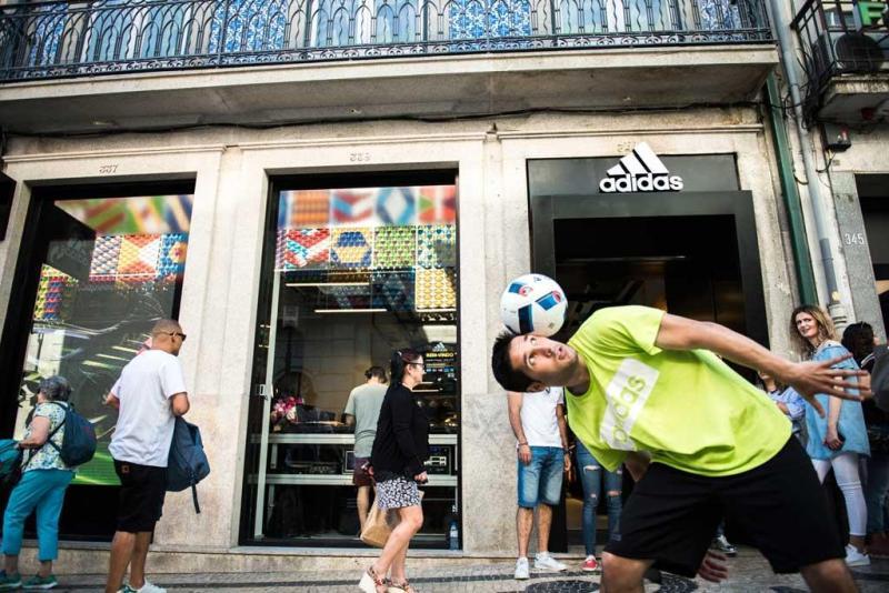 dc7e32756f4 7 33 - Abertura da nova loja Adidas na Rua de Santa Catarina Foto   Divulgação
