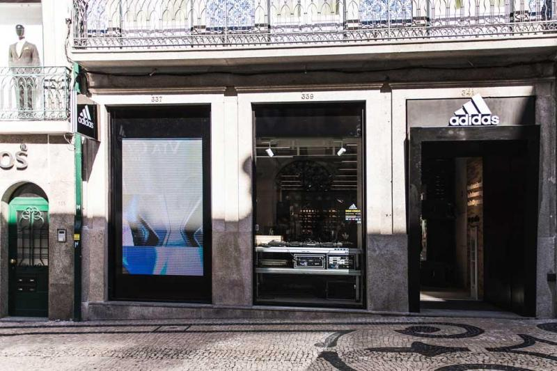 9b9534a12cd 13 33 - Abertura da nova loja Adidas na Rua de Santa Catarina Foto   Divulgação