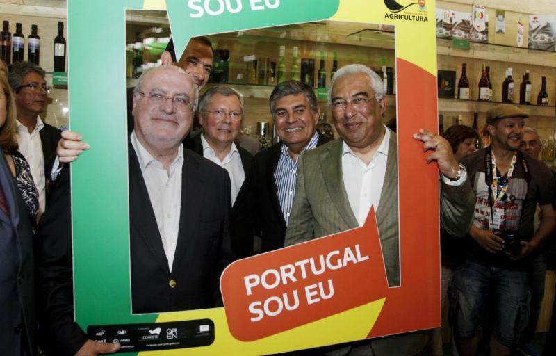 Capoulas Santos e António Costa