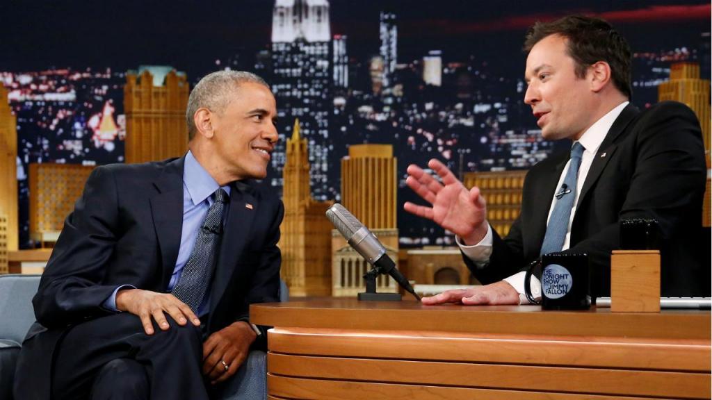 Barack Obama e Jimmy Fallon