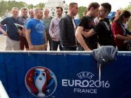 Euro 2016: segurança apertada na entrada (Lusa)