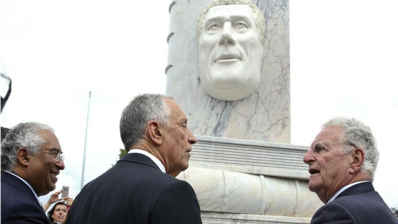 Marcelo Rebelo de Sousa e António Costa em Paris. O dia 2 das Comemorações do 10 de Junho junto dos emigrantes