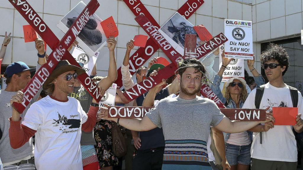 Protesto em Aljezur