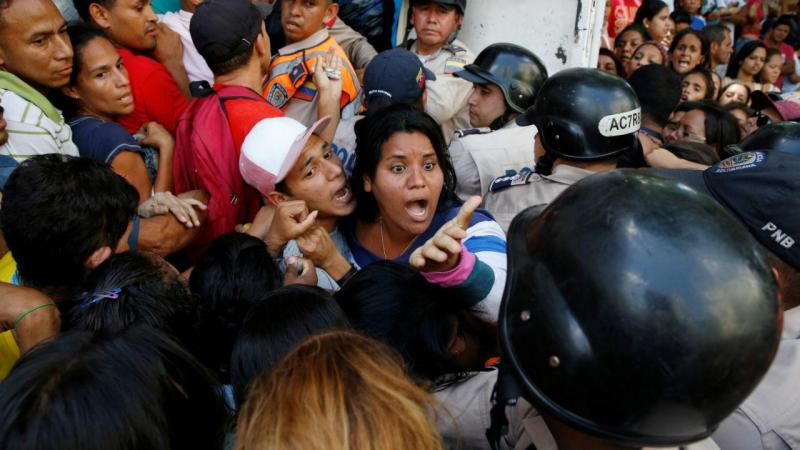 Venezuela a ferro e fogo