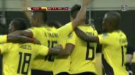 Equador faz o terceiro com belo remate de Noboa