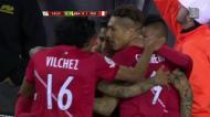 Veja o resumo do Brasil-Peru (muita polémica e um golo com a mão)