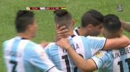 Lamela marca com ajuda boliviana o primeiro da Argentina