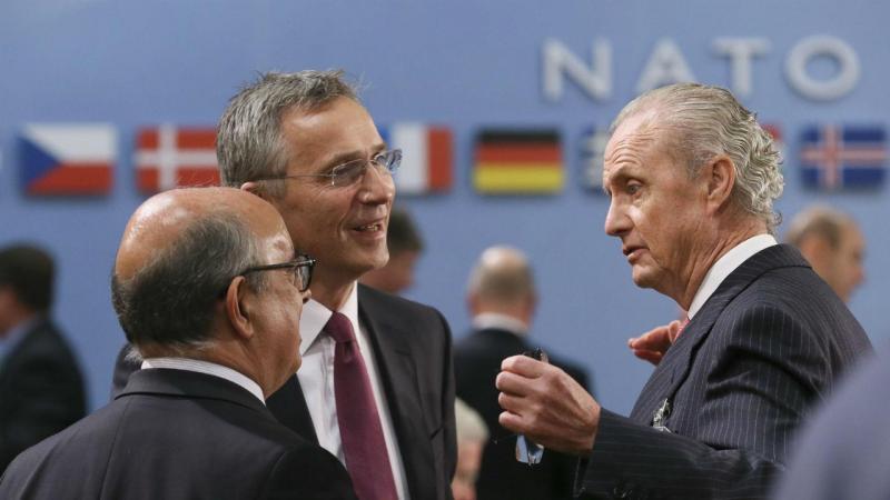 Ministro da Defesa, José Azeredo Lopes, na reunião de Defesa do Conselho do Atlântico Norte