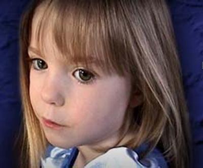 Madeleine McCann (a menina desaparecida)