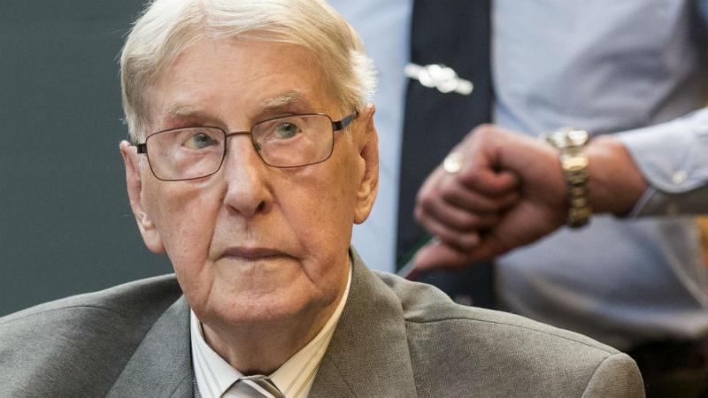 Reinhold Hanning foi condenado aos 94 anos