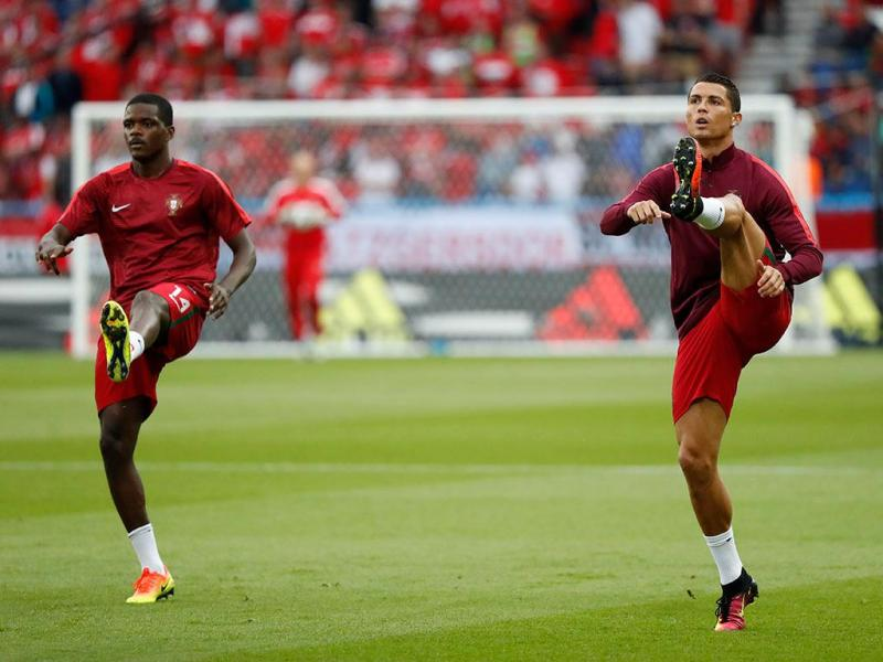 Aquecimento da Seleção Nacional (Reuters)