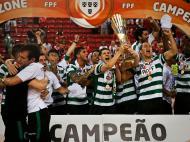 Futsal: Sporting campeão Nacional (Lusa)