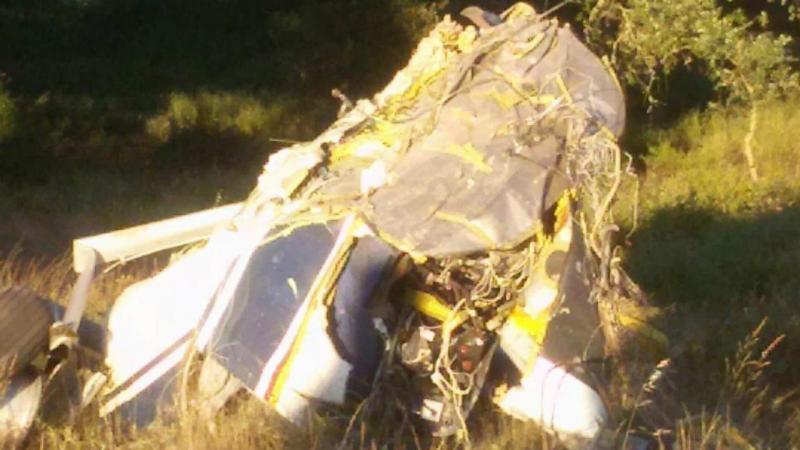 Acidente de avião em Beja