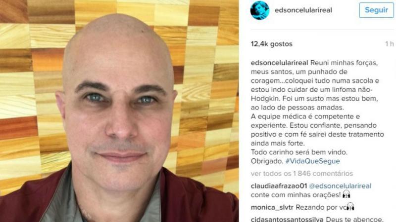 Edson Celulari (foto Instagram)