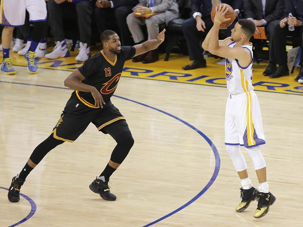 Golden State Warriors-Cleveland Cavaliers (Reuters)