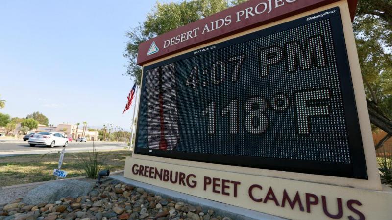 Onda de calor nos EUA