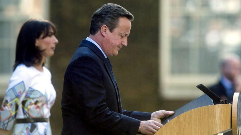 David Cameron anuncia a demissão