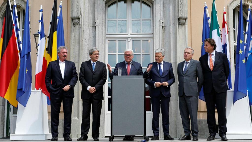 MNE dos países fundadores da UE