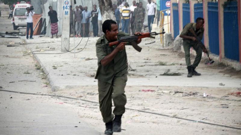 Terroristas na Somália