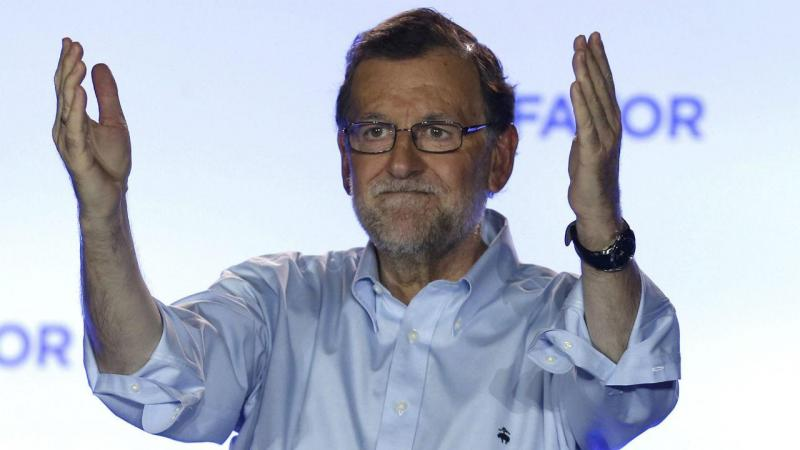 Noite de eleições em Espanha