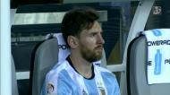 Messi anuncia o «adeus» à seleção argentina
