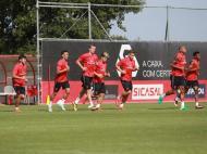 Primeiro treino do Benfica 2016/17 (fonte: SLB)