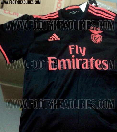 bb04e7f95 FOTOS  serão estes os novos equipamentos do Benfica