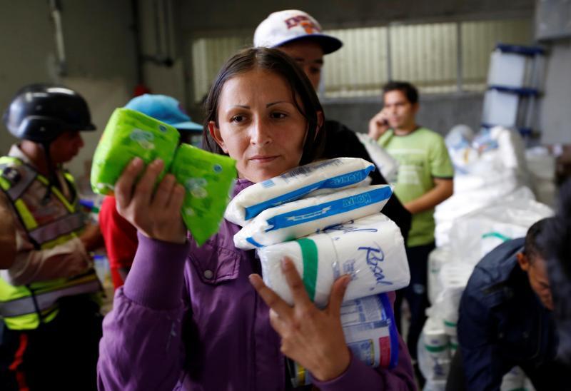 Supermercados vazios na Venzuela
