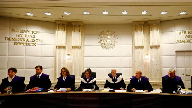 Áustria - Tribunal Constitucional