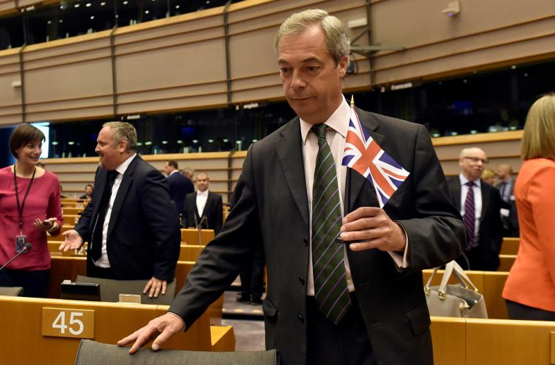 Nigel Farage - Líder do UKIP