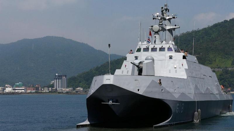 Navio da marinha taiwanesa