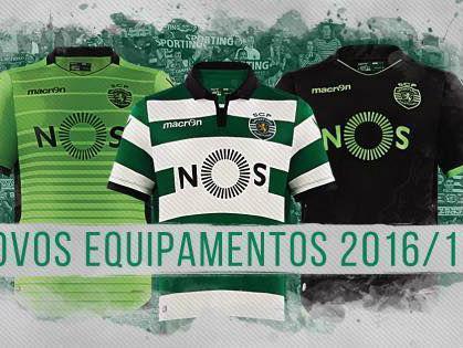 0e3d47bf6c Sporting apresenta novos equipamentos
