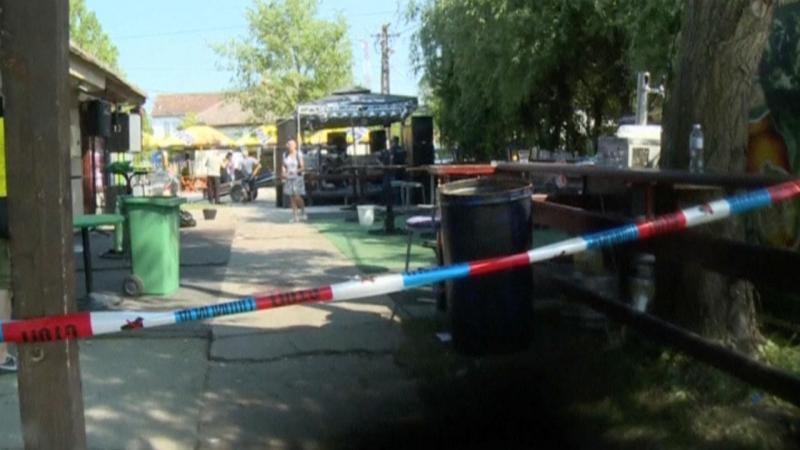 Homem matou a tiro cinco pessoas num café na Sérvia [Foto: Reuters]