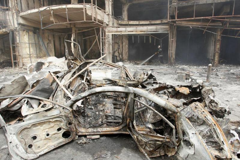 Atentado à bomba em Bagdade [Foto: Reuters]