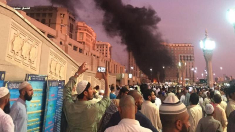 Explosão junto a mesquita em Medina, Arábia Saudita