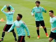 Seleção portuguesa preparou meias-finais sem Pepe (REUTERS)