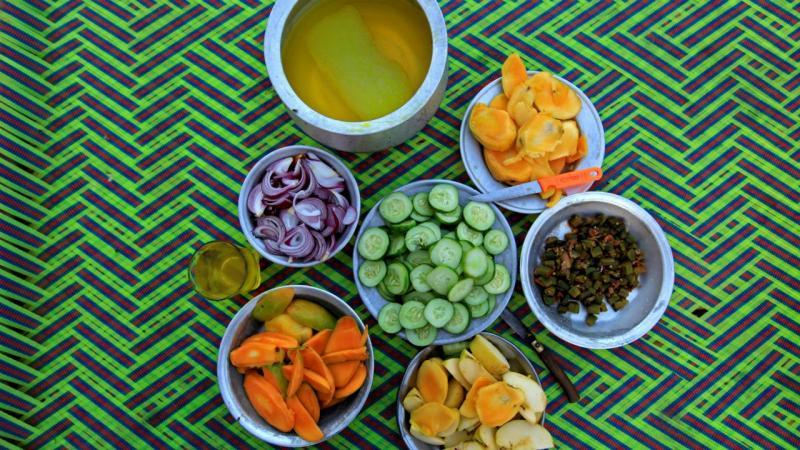 Fruta e vegetais