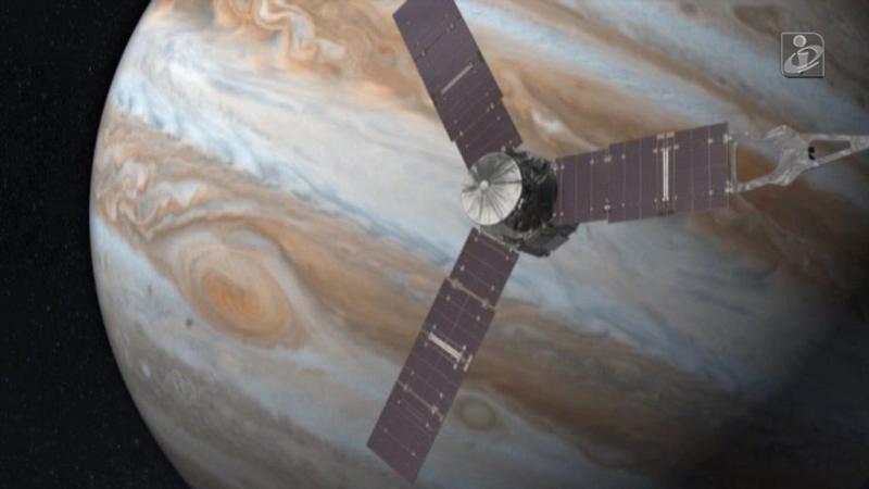 Sonda espacial Juno entrou com sucesso na órbita de Júpiter