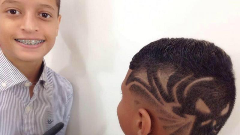 Yuri dos Reis, o cabeleireiro prodígio
