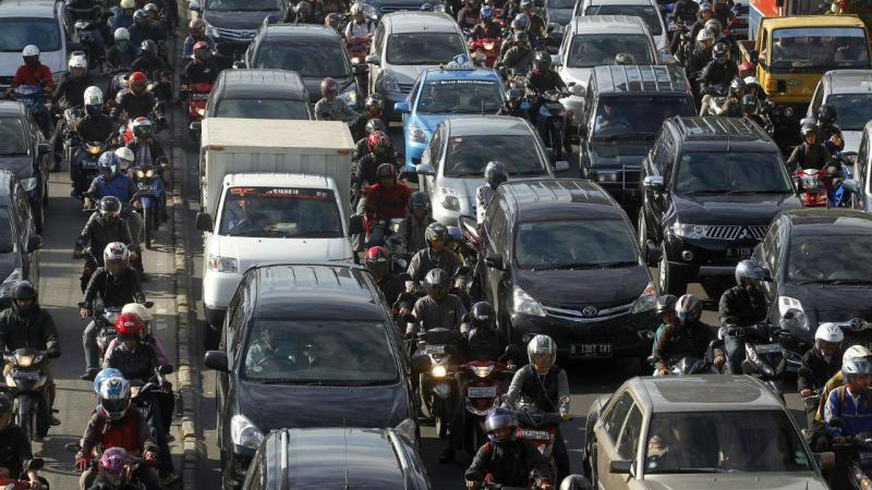 Indonésia - engarrafamento