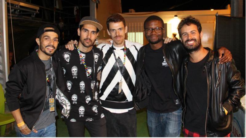 HMB, Filipe Gonçalves e DJ Kamala